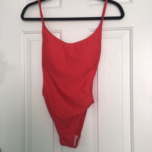 Sunny Co Clothing Other - Sunny Co Clothing Red Pamela One Piece Swimsuit